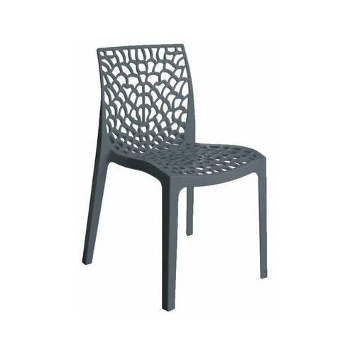 Telehit garden Krzesło ogrodowe plastikowe gruvyer