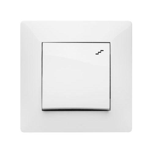 Elektroplast volante łącznik schodowy biały 2612-00
