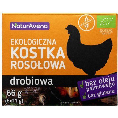 Kostka Rosołowa Drobiowa BIO 66g - Naturavena (5902367409739)