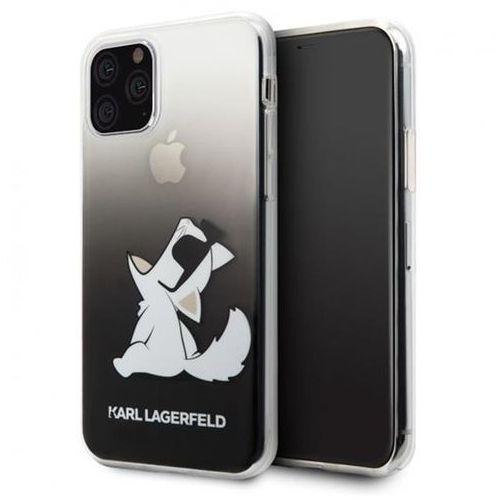 klhcn65cfnrcbk iphone 11 pro max hardcase czarny/black choupette fun - czarny marki Karl lagerfeld
