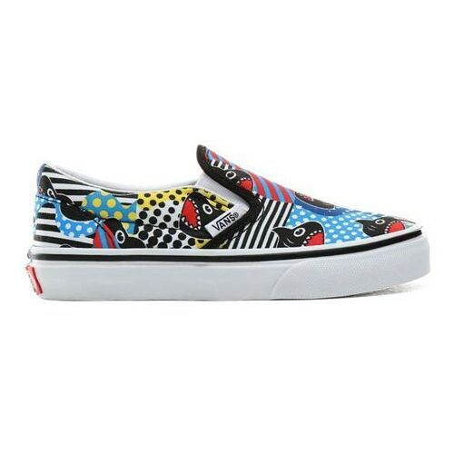 Vans Buty - classic slip-on (shark week)phin/true wht (v9d) rozmiar: 30.5