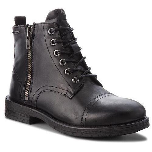 Kozaki PEPE JEANS - Tom-Cut Med Boot PMS50163 Black 999