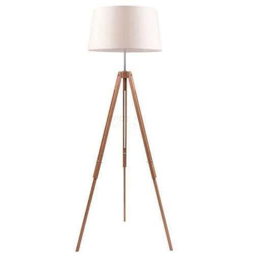 Spot light Lampa stojąca tripod dąb na trójnogu (5901602336014)