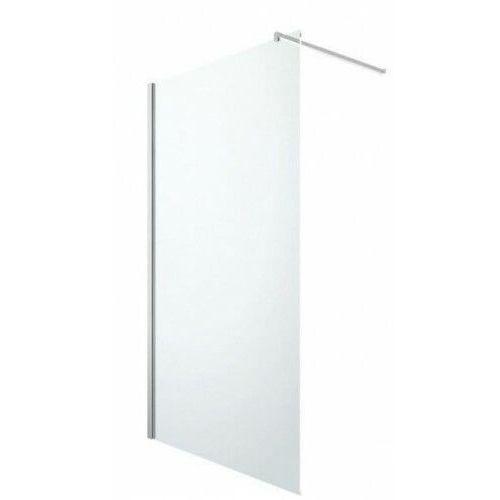 Invena ścianka prysznicowa walk-in 80x190 easy clean ak-32-182