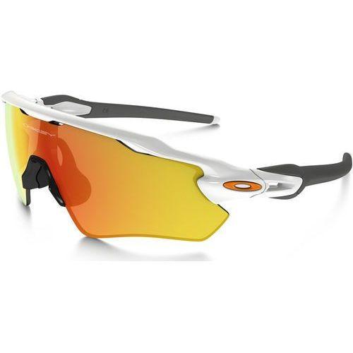 Oakley radar ev path okulary rowerowe mężczyźni biały 2018 okulary sportowe (0888392162359)