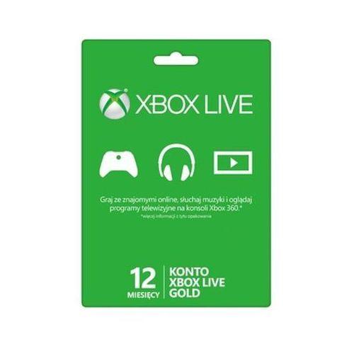 Subskrypcja Xbox Live Gold (12 m-cy karta zdrapka) - produkt z kategorii- Kody i karty pre-paid