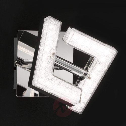 Wofi Lea - chromowany kinkiet led, regulowany (4003474329895)