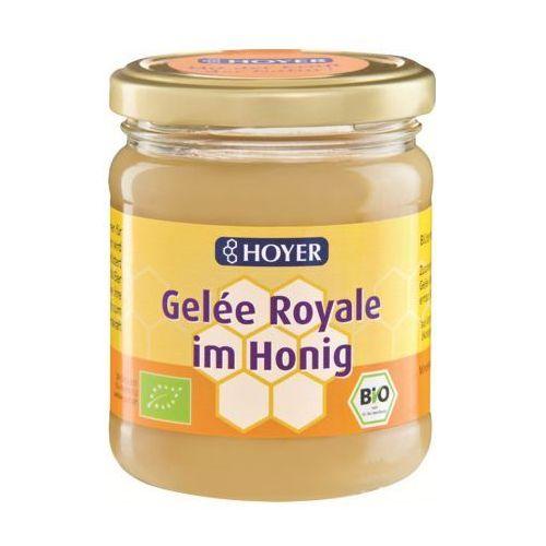 Miód z mleczkiem pszczelim bio 250 g - hoyer marki Hoyer (miody)