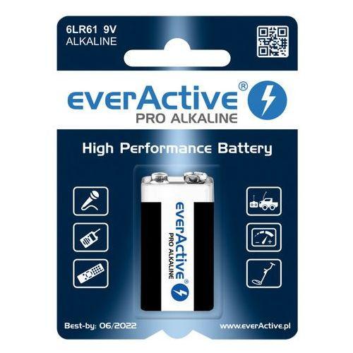 1 x bateria alkaliczna everActive Pro 6LR61 / 6LF22 9V (blister), EV6LR61-PRO
