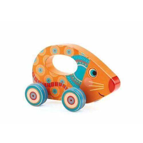 Djeco Drewniana zabawka na kółkach lili (3070900062719)