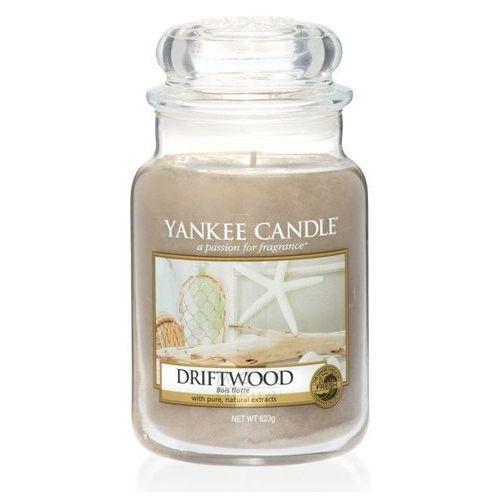 Yankee candle Świeca zapachowa duży słój driftwood 623g