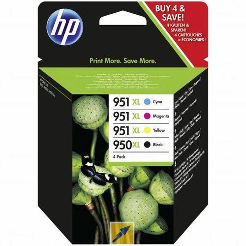 Zestaw tuszy hp 950xl i 951xl / c2p43ae cmyk do drukarek (oryginalny) marki Hewlett-packard