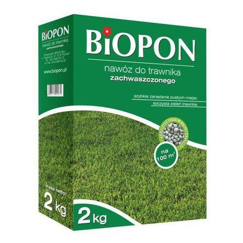 Nawóz do trawników zachwaszczonych Biopon 2 kg
