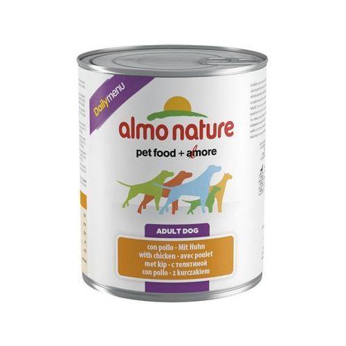 daily menu dog kurczak - puszka 800g marki Almo nature