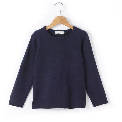 R édition Sweter z okrągłym dekoltem z kształcie trapezu 3-12 lat