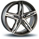 24h du mans Felga  arnage gun metal machined face 8x18 4x100 et35