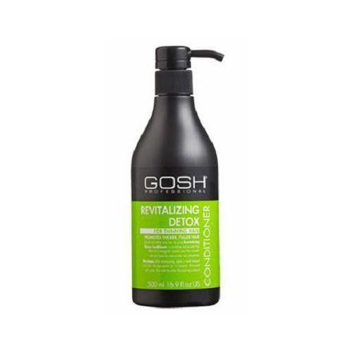 GOSH Revitalizing Detox Conditioner - Rewitalizująco – detoksykująca odżywka do włosów, 500 ml