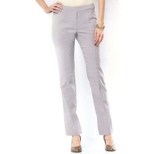 Wygodne spodnie z materiału ze stretchem, Anne weyburn