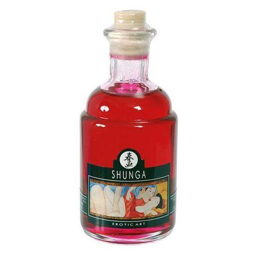 Shunga Olejek do stref erogennych -  aphrodisiac oil raspberry malina