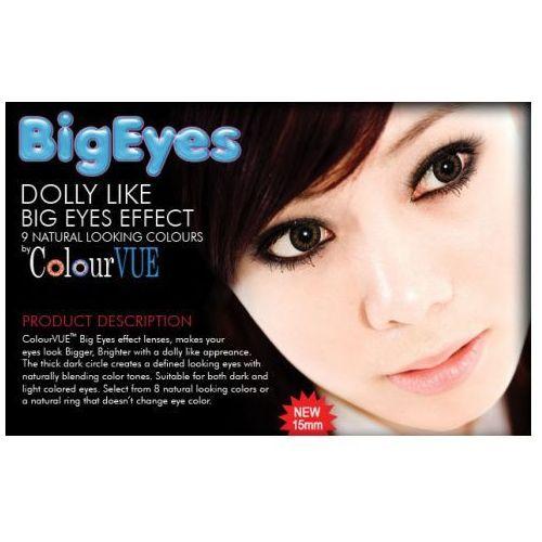 ColourVue Big Eyes Kolor- kwartalne - zerówki