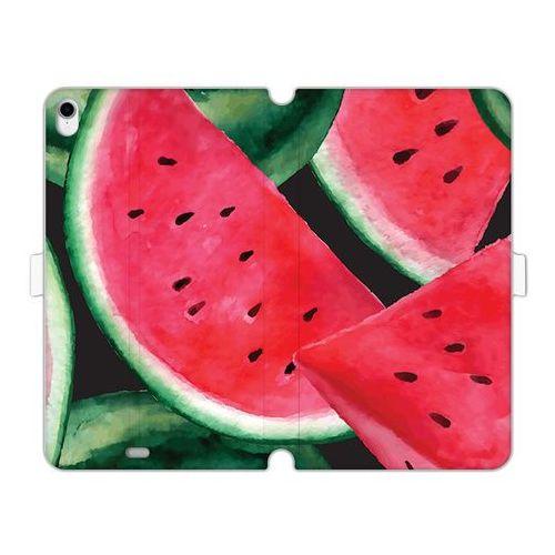 Apple iPad Pro 11 - etui na tablet Wallet Book Fantastic - malowane arbuzy