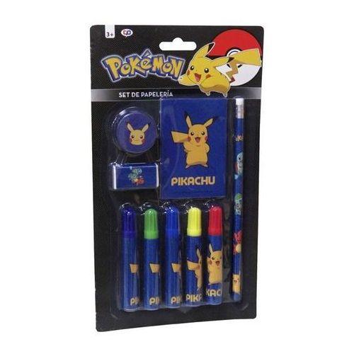 Zestaw przyborów szkolnych – 9 elementów Pokemon