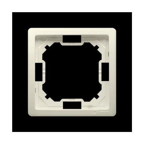 Ramka 1-krotna; beż (ramka do gniazd i włączników elektrycznych)