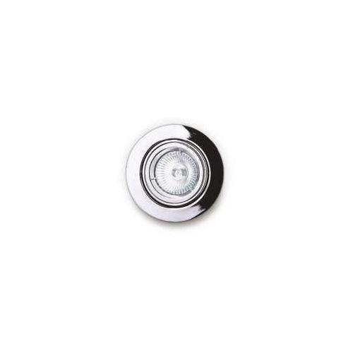 MAXlight H0038 Oczko lampa oprawa wpuszczana downlight 1X50W GU5.3 12V chrom >>> RABATUJEMY do 20% KAŻDE zamówienie!!!, H0038