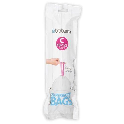 Worki na śmieci perfectfit bags rozmiar c 10-12l 20 szt marki Brabantia