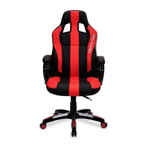 Fotel gamingowy DAYTONA czerwony PRO-GAMER dla graczy