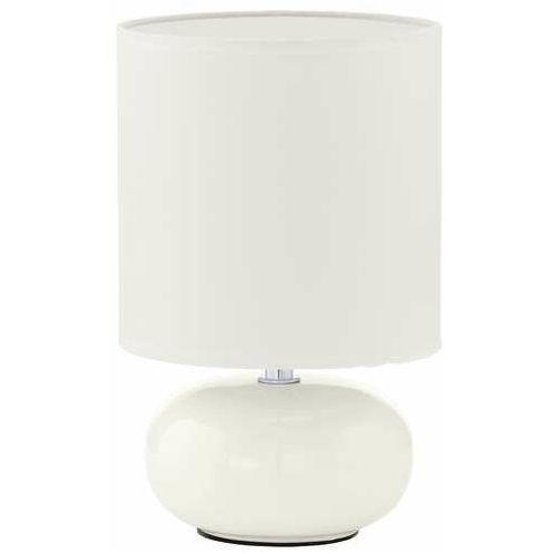 Eglo Lampka stołowa trondio 93046 oprawa 1x40w e14 biała (9002759930462)