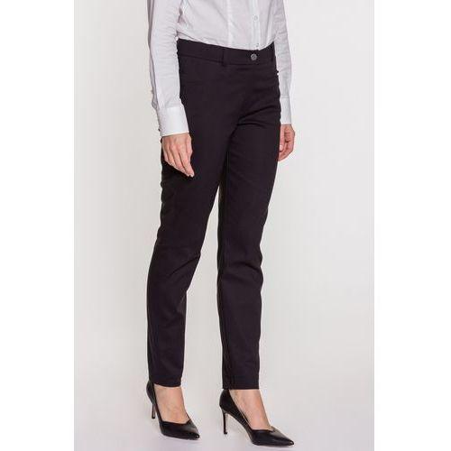 Czarne spodnie - SU, kolor czarny