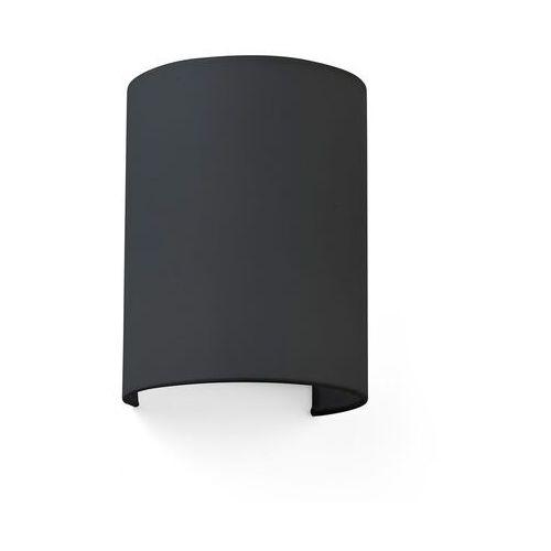 Lampa ścienna Cotton, falista, 20 x 15 cm, czarna (8421776169319)