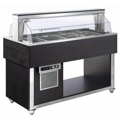 Rm gastro Witryna chłodnicza | 4xgn 1/1-200 | 1494x650x(h)1205mm