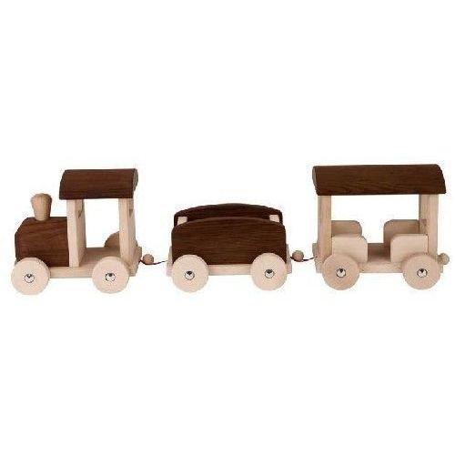 Goki Kolejka drewniana - zabawka dla dzieci