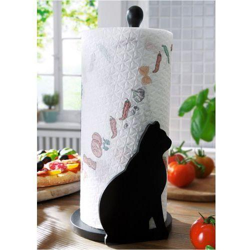 """Stojak na papier kuchenny """"Kot"""" bonprix czarny"""