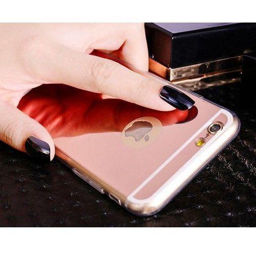 Slim mirror  case różowy | etui dla apple iphone 6 plus / 6s plus - różowy