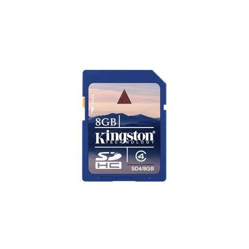 Karta pamięci Kingston 8GB SDHC SD4 8GB, SD4/8GB