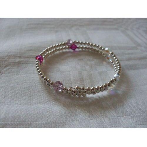 B-00010 Bransoletka na rękę z kryształkami Swarovski, 25-03-12