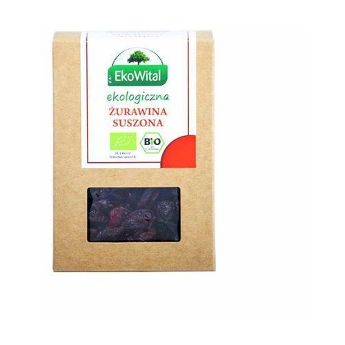 Żurawina suszona bio 125 g ekowital, marki Eko wital
