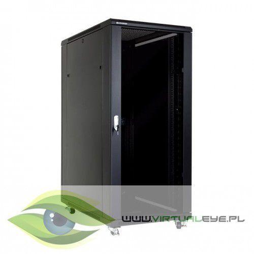 """Linkbasic Szafa stojąca rack 19"""" 27U 600x1000mm czarna (drzwi szklane), 1_667681"""