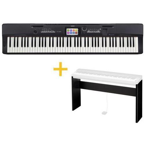 Casio PX-360 BK - PIANINO CYFROWE + Stand Cs-67BK + Instrukcja PL (fortepian, pianino)