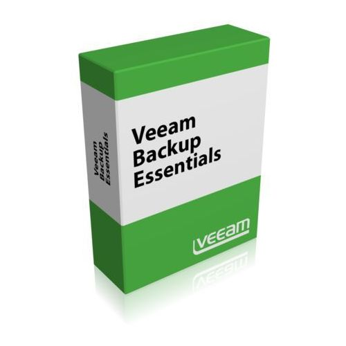 Veeam Backup Essentials Enterprise Plus for VMware 2 socket bundle Upgrade from Veeam Backup Essentials Enterprise - Public Sector - Edition Upgrade (P-ESSPLS-VS-P0000-U4), P-ESSPLS-VS-P0000-U4