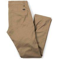 Spodnie - reserve chino khaki (0603) rozmiar: 28 marki Brixton