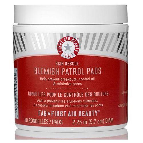 skin rescue blemish patrol pads (60 pads) (worth £26.00) wyprodukowany przez First aid beauty