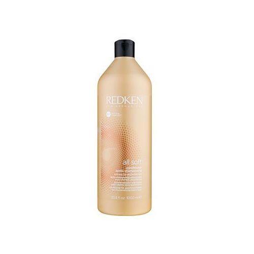Redken  all soft odżywka do włosów suchych i łamliwych z olejkiem arganowym 1000 ml (3474636484393)