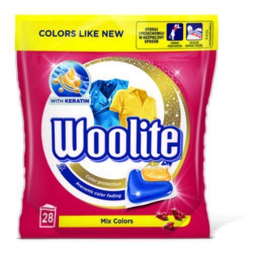 Kapsułki do prania Woolite Mix Colors 616 g (28 sztuk) (5900627070569)