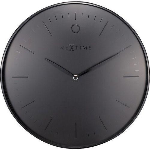 Zegar ścienny Glamour czarny