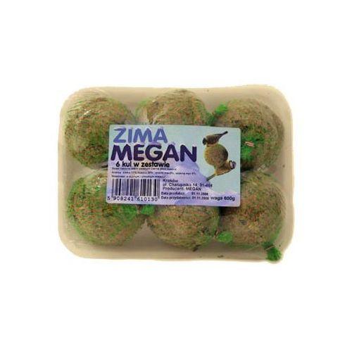 OKAZJA - zestaw dla sikorek w folii 6 kul marki Megan