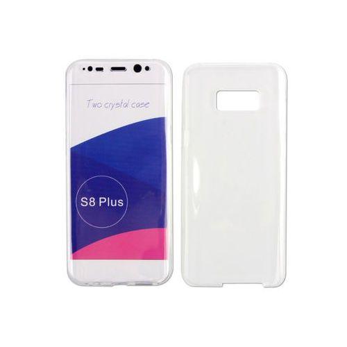 Samsung Galaxy S8 Plus - etui na telefon Full Body Slim - przezroczysty, kolor biały